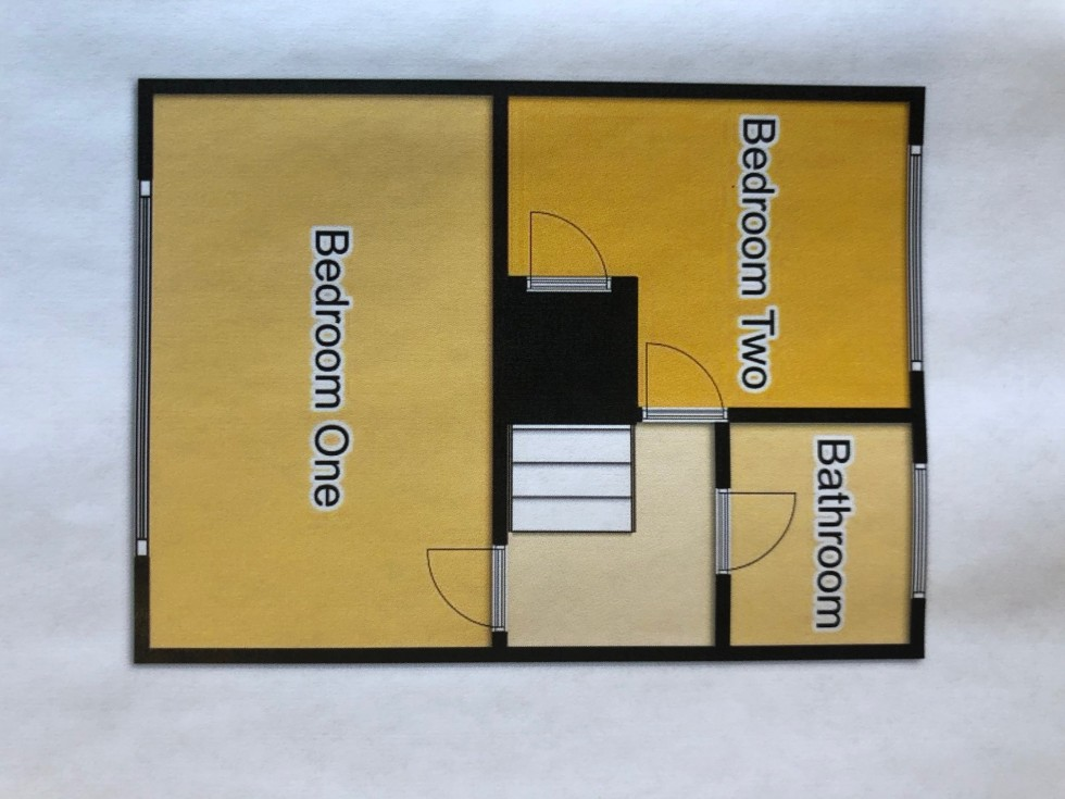 Floorplan for Melbourne Close, Mickleover